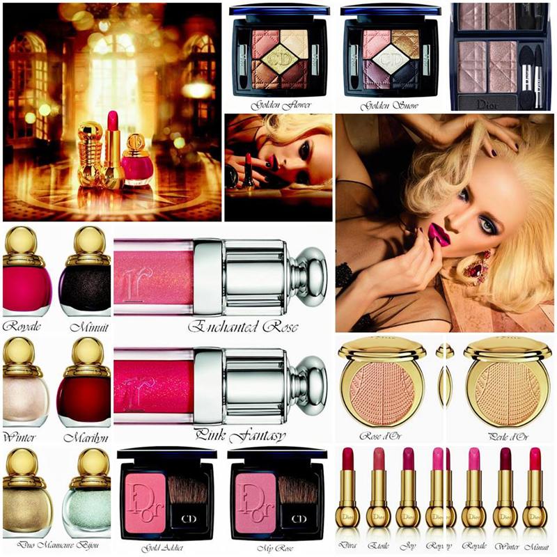 Dior Golden Winter praznična kolekcija 2013